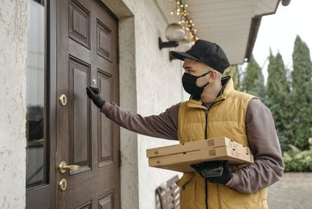 What is a local courier facility