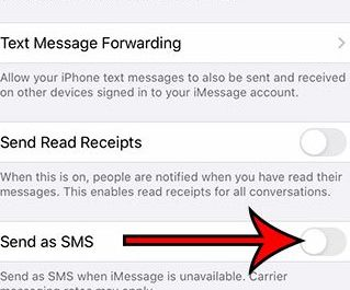 What-does-sent-as-text-message-mean