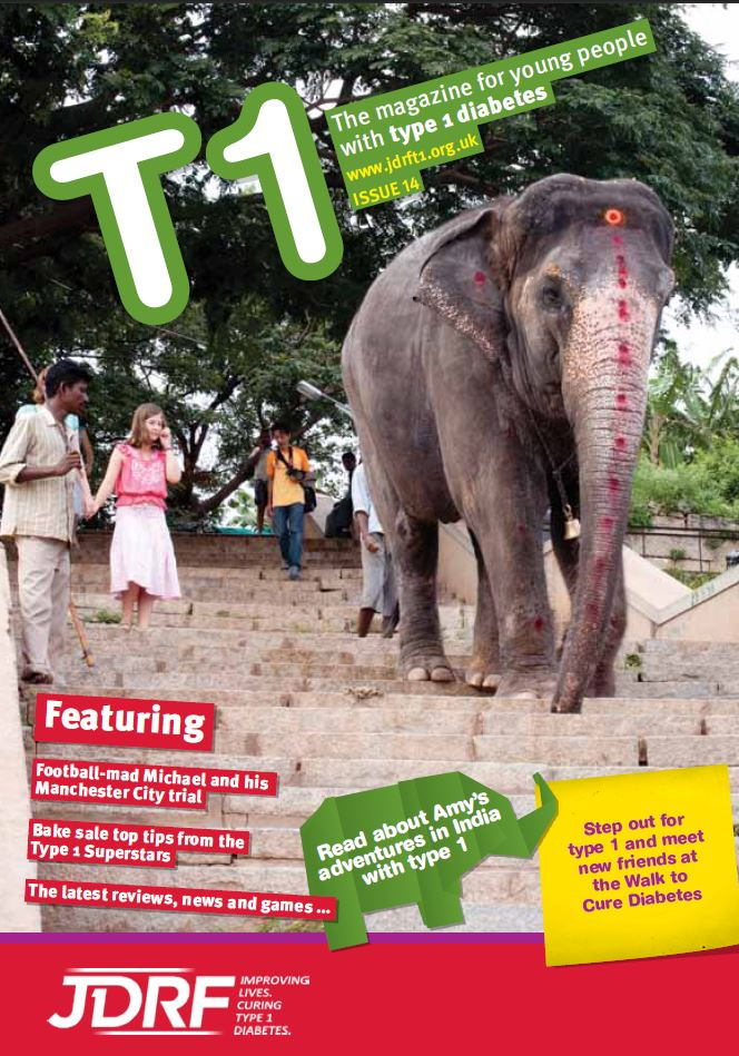 T1 Kids Magazine front cover