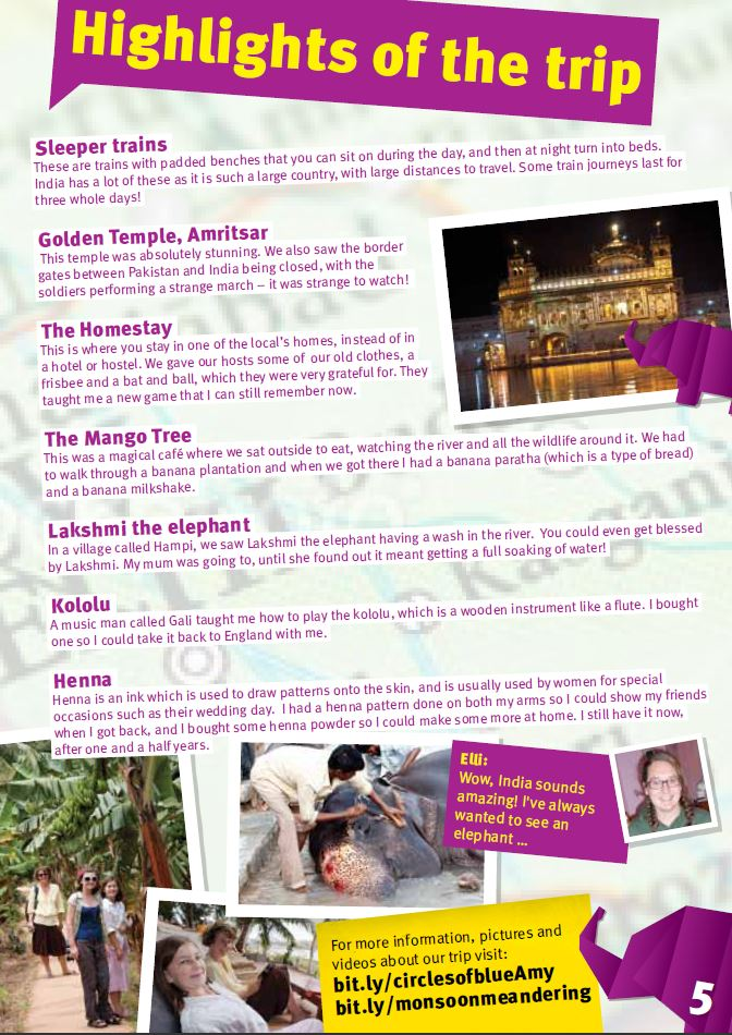T1 Kids Magazine right page