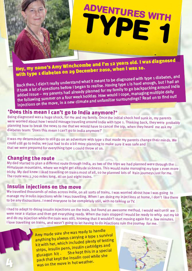 T1 Kids Magazine left page