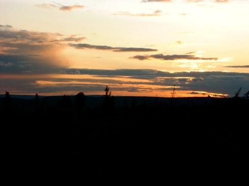 Sunset near Manley
