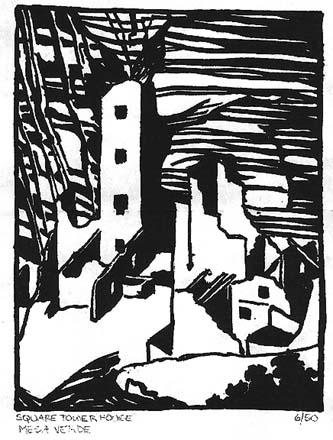 Ruess Print Mesa Verde