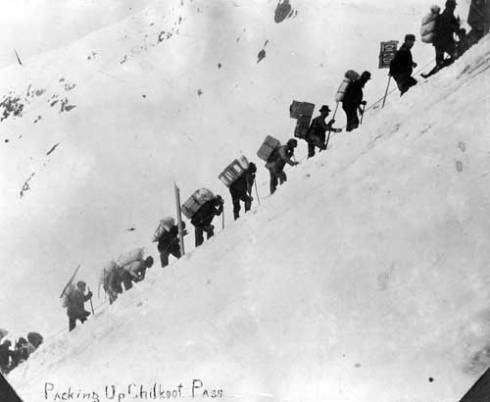 Chilkoot Pass 1898