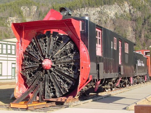 Skagway Snow Plow Train