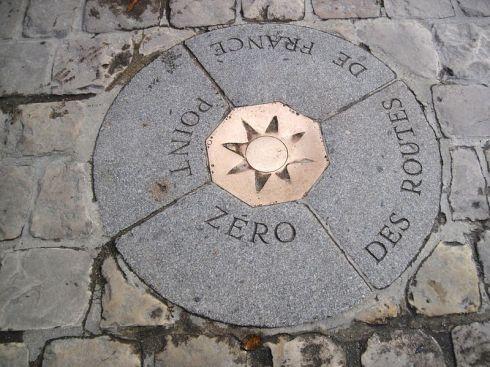 Kilometer-Zero-Paris