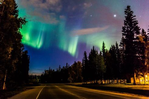 Aurora over Fairbanks