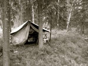 Ancient wall tent