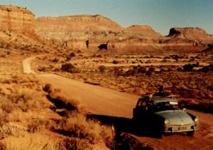Utah Hwy 95 with VW
