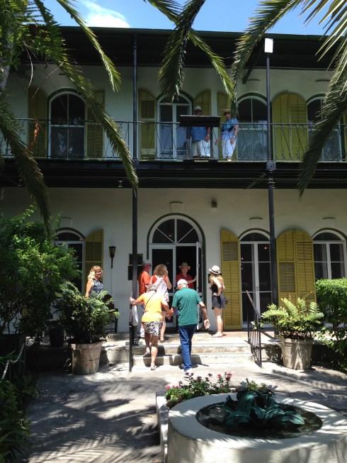 Hemingway's House today