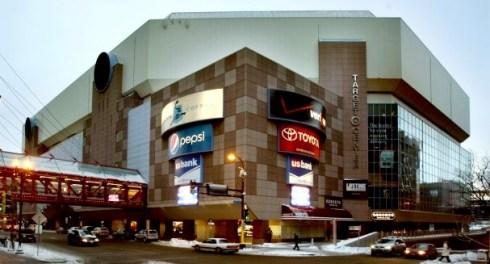 Target Center exterior