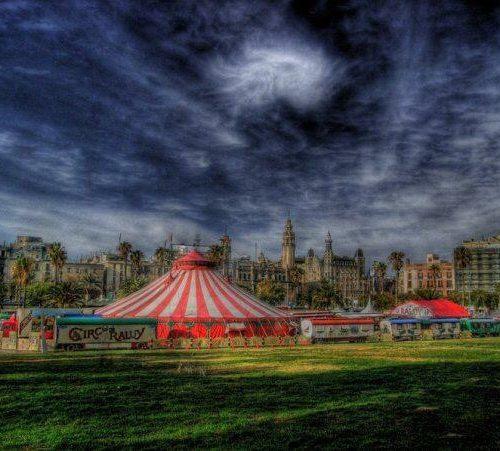 Carpa del Circo Raluy artística