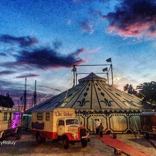 Carpa del Circo Raluy