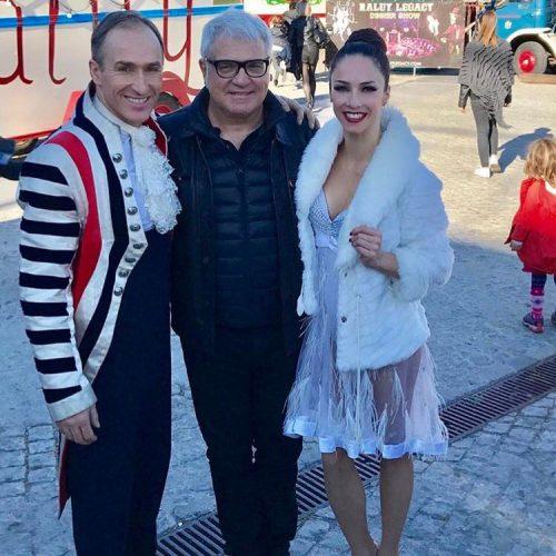 Joan Gracia de El Tricicle en el Circo Raluy