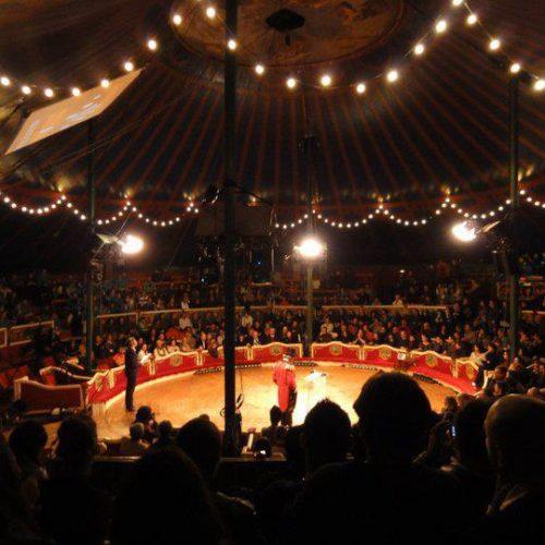 Actuación en el Circo Raluy