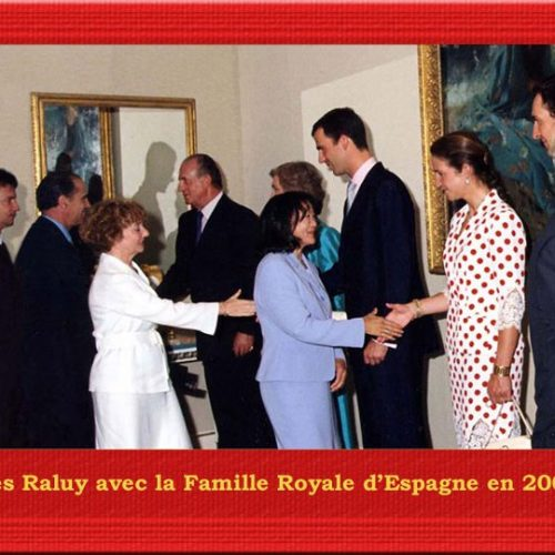 VIPS en el Circo Raluy. Con la Familia Real español