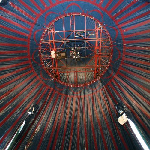 Montaje del Circo Raluy