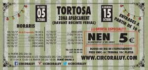 Circo Raluy Tortosa 2017