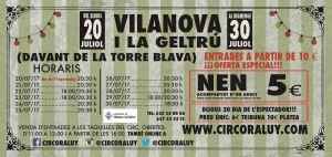 Circo Raluy en Vilanova 2017