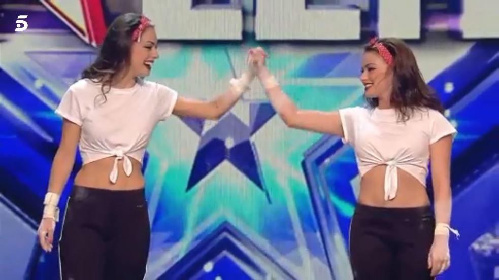 Niedziela y Emiliy Raluy en Got Talent 3
