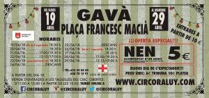 Circo Raluy en Gavá 2018