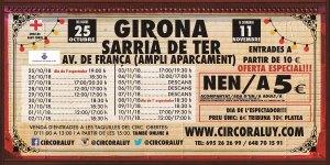 Circo Raluy 2018-10-25 Girona / Sarria de Ter