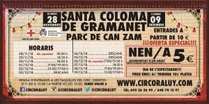 Circo Raluy 2018-11-28 Santa Coloma de Gramanet