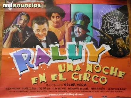 Eventos Profesionales. Película Raluy, una noche en el Circo