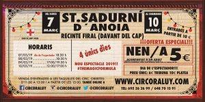 Circo Raluy en Sant Sadurni d Anoia 2019