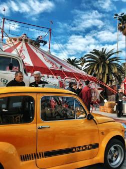 Evento Club SEAT 600 Barcelona en el Circo Raluy 07