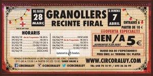 Circo Raluy en Granollers 2019