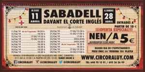 Circo Raluy en Sabadell 2019