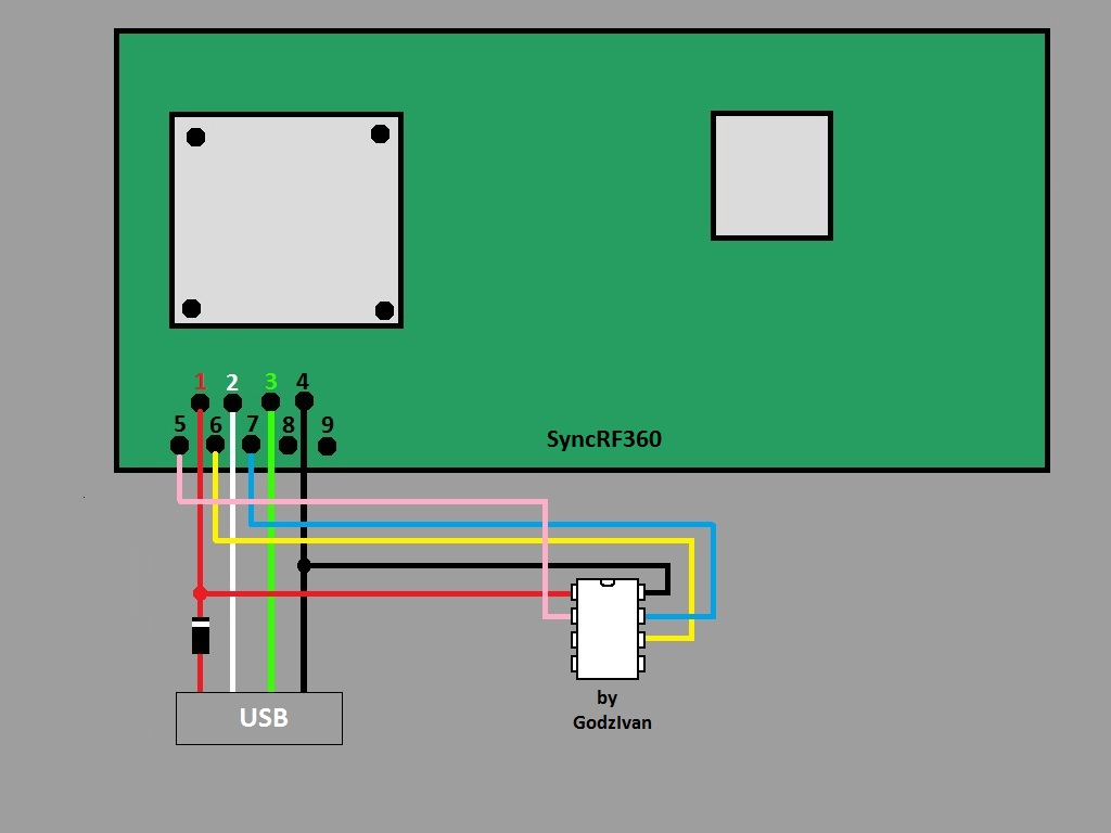 Xbox 360 Wireless Controller Circuit Board