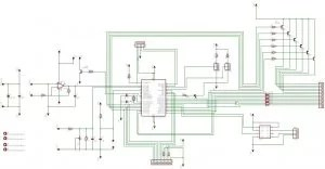 Digital Volt And Amp Meter Circuit Diagram