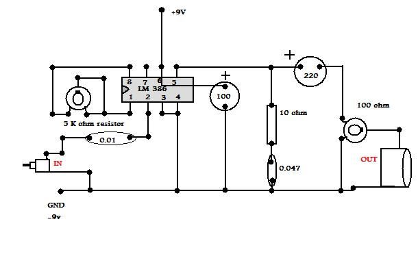 Circuit Diagram Of High Power Audio Amplifier