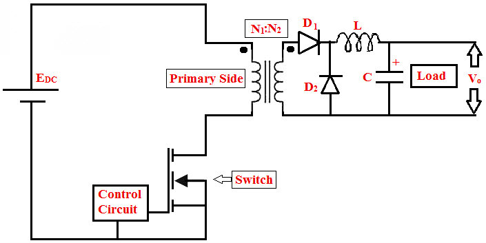 circuit diagram of smps