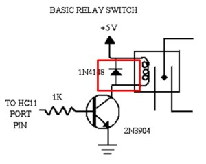 How to use relay with schematic of relay circuit diagram