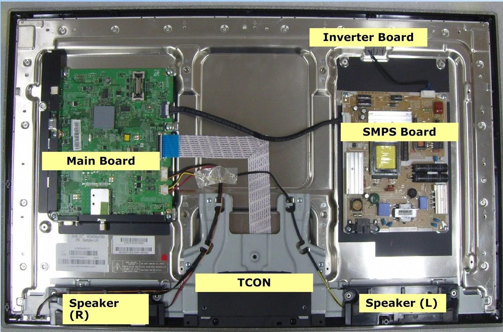 Samsung Tv Wiring Diagram