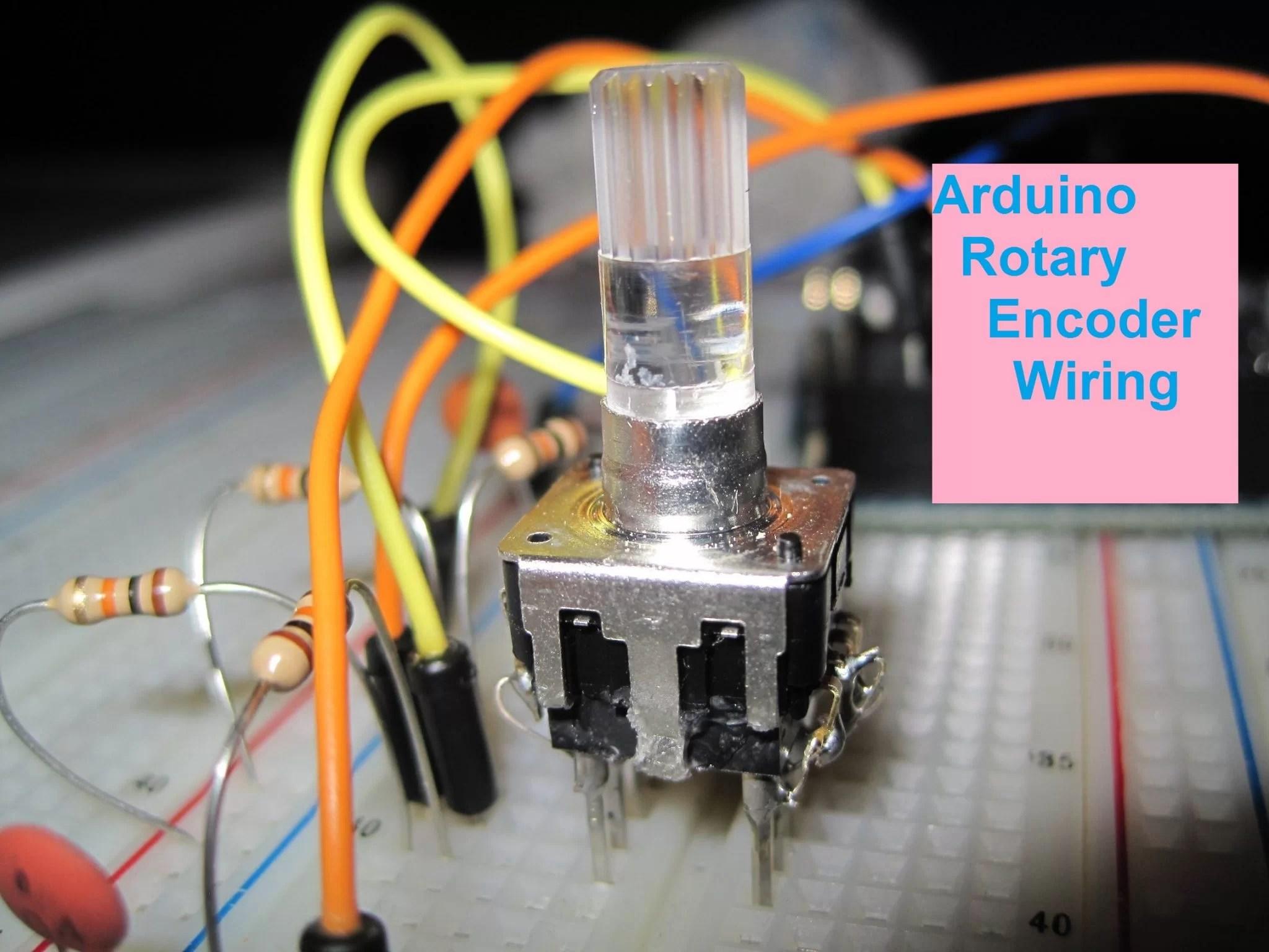 encoder wiring diagram zen car alarm system arduino rotary