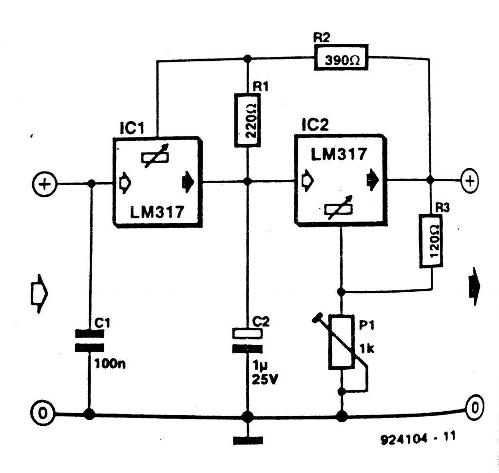 direct current diagram the voltage and current are