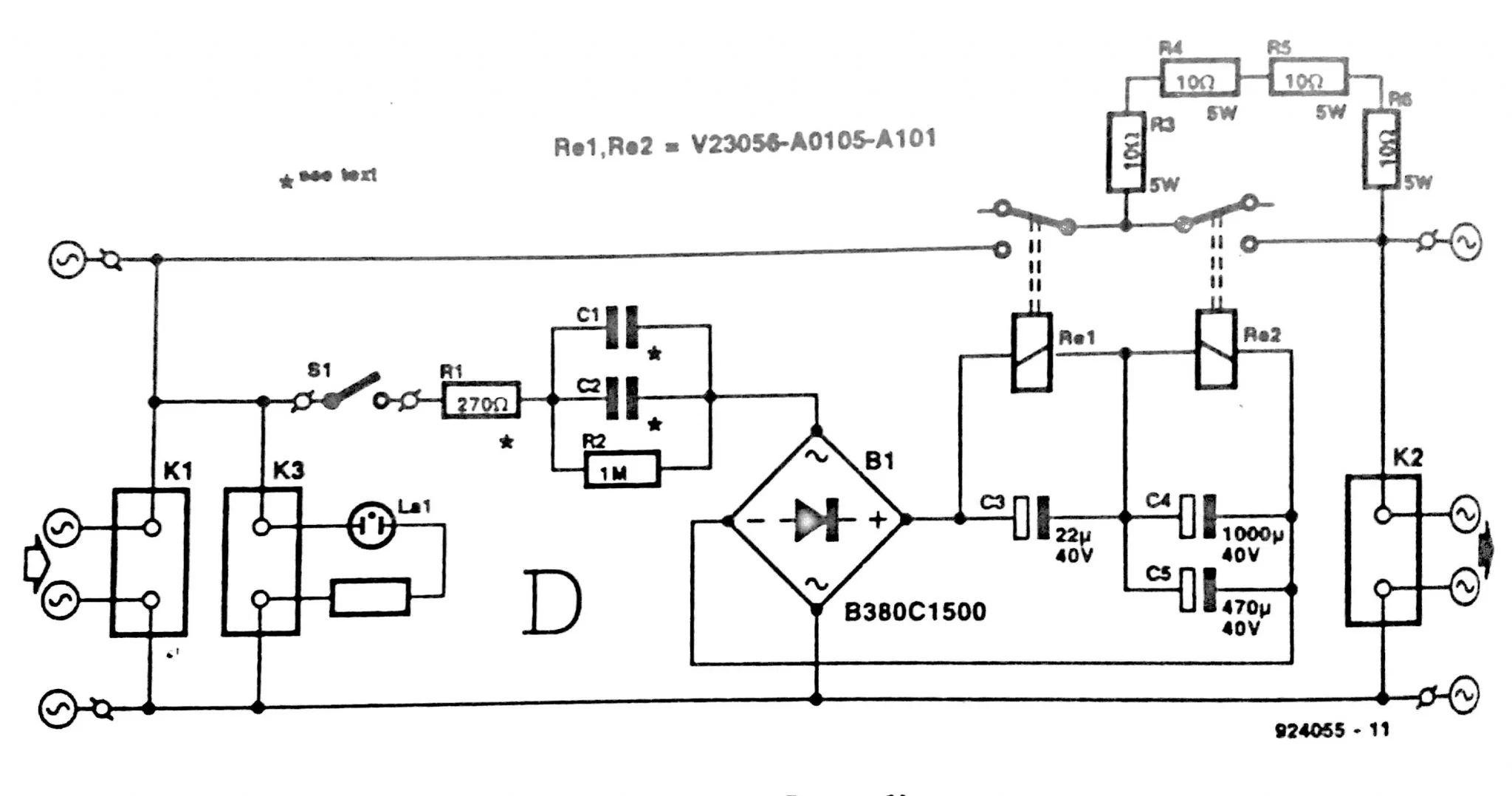 power off delay circuit