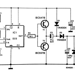 Simple Circuit Diagram Swimming Pool Sand Filter Dc To Converter Using 555 Ic Timer