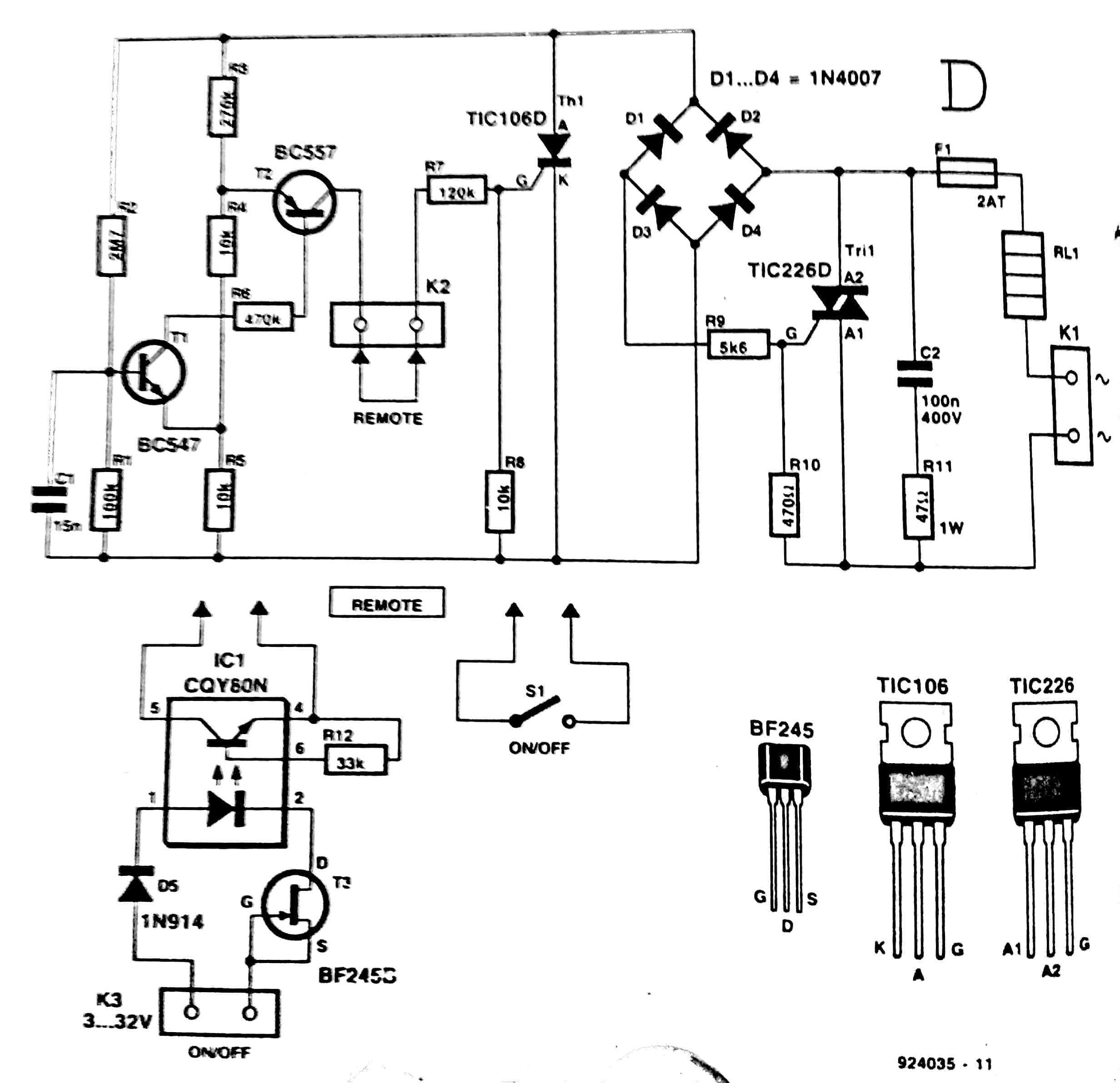 F To V Converter Circuit Diagram