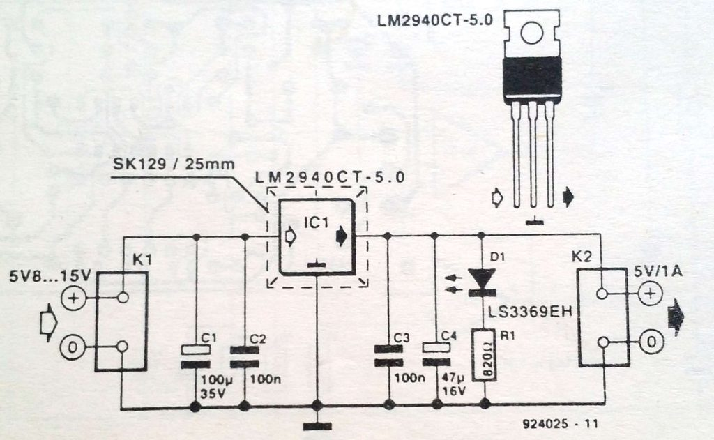 Low drop regulator