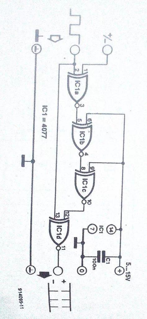 circuit diagram of universal gates