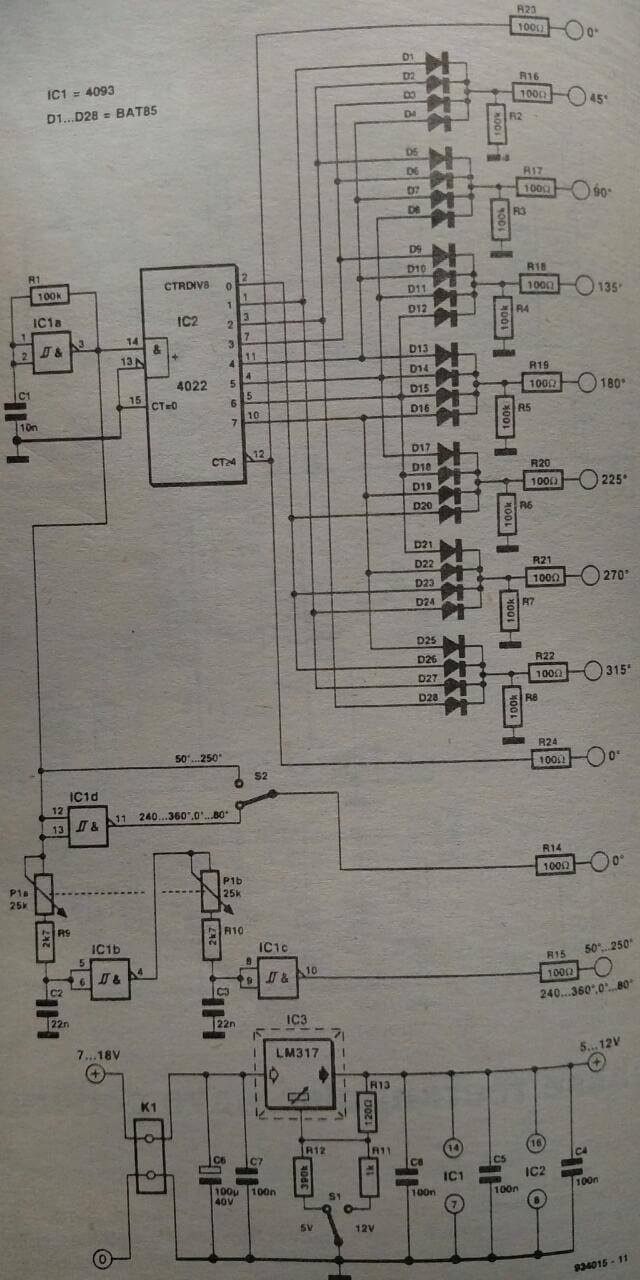 Field Noise Cancelling Microphone Preamp Circuit Schematic Diagram