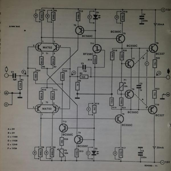 Lm4562 Noise Measurement Circuit Diagram