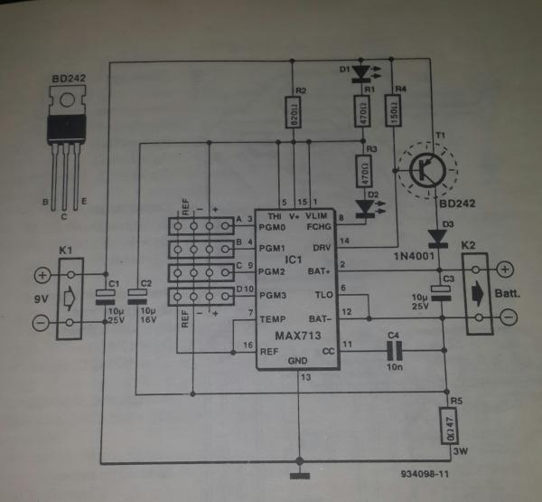 Battery Charger Circuit Diagram As Well Nimh Battery Charger Circuit