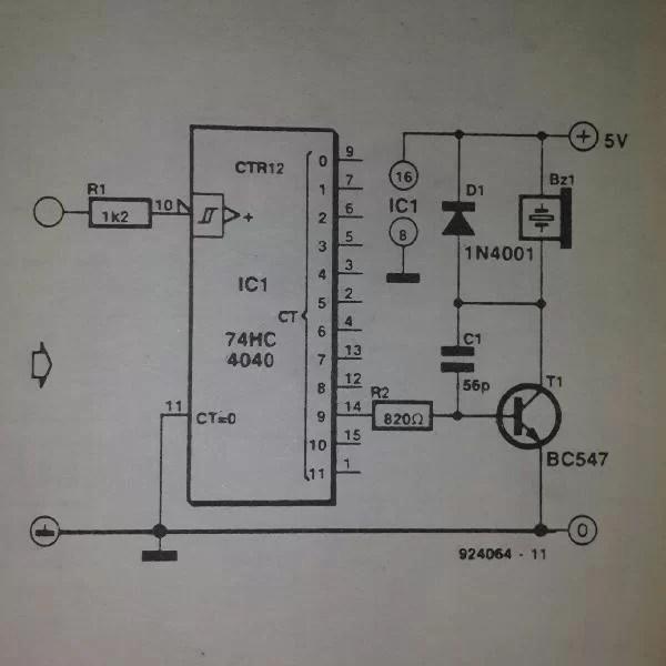 555 556 Tone Burst Generator Circuit Diagram Circuit Wiring