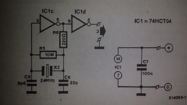 Pll Oscillator Circuit Schematic Diagram